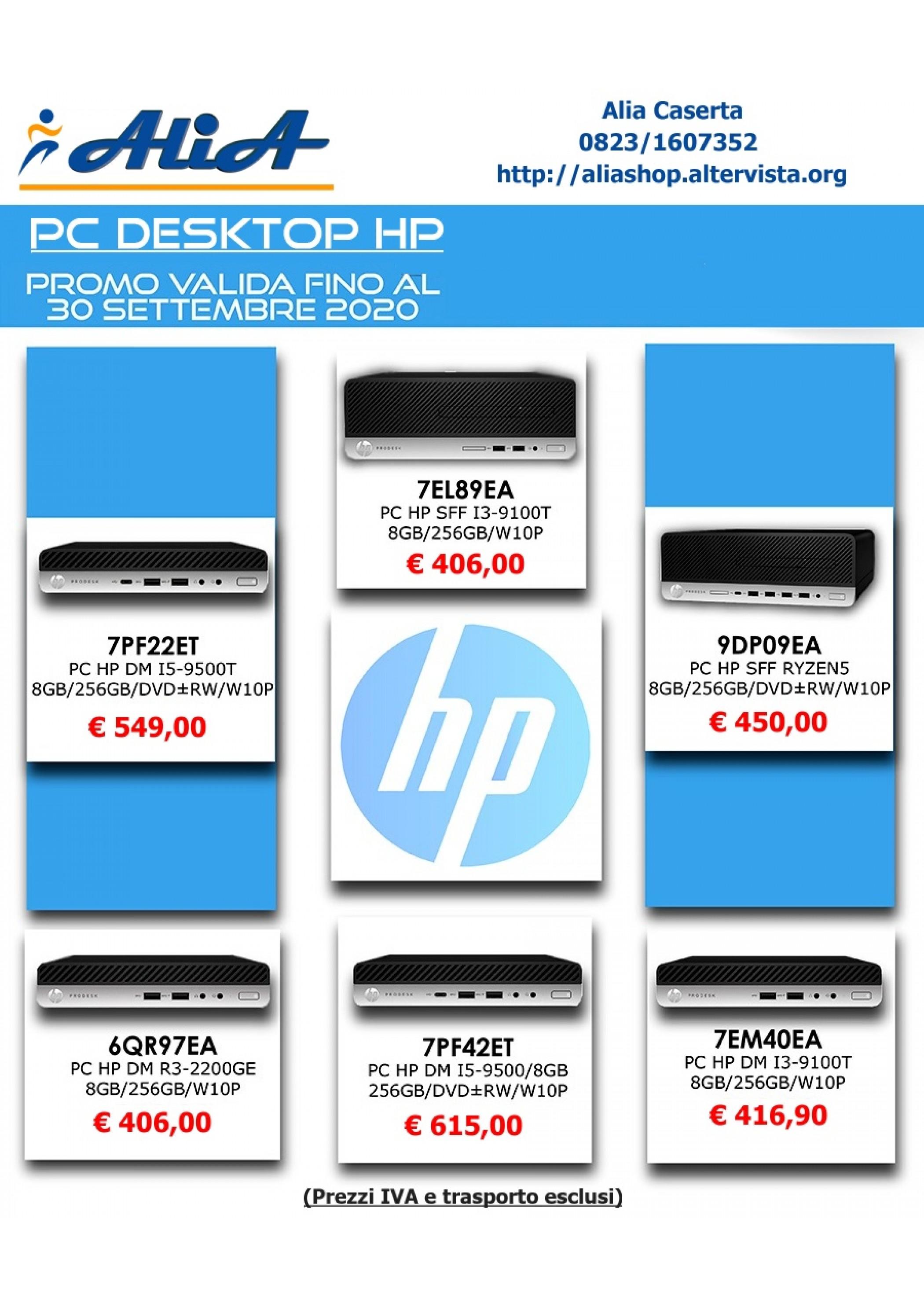 Promo PC HP Settembre 2020