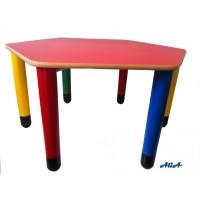 Banco Esagonale Multicolor