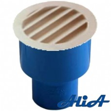 Aumento conico concentrico 50F/82F completo di griglia di sfiato